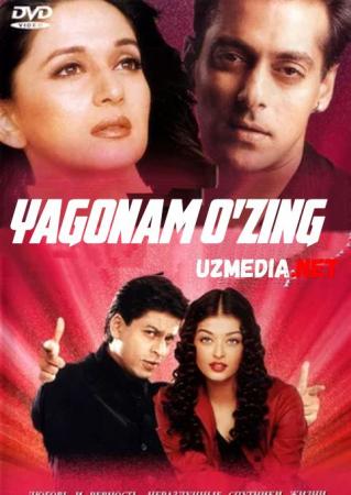 Yagonam o'zing Hind kino Uzbek tilida O'zbekcha tarjima kino 2002 HD tas-ix skachat