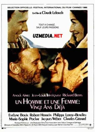 Ayol va Erkak 20 / Yigirma yildan so'ng Uzbek tilida O'zbekcha tarjima kino 1986 Full HD tas-ix skachat