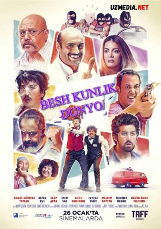 Besh / 5 kunlik dunyo Turkiya filmi Premyera Uzbek tilida O'zbekcha tarjima kino 2018 Full HD tas-ix skachat