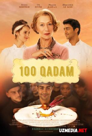 Yuz / 100 qadam Hind kino Uzbek tilida O'zbekcha tarjima kino 2014 HD tas-ix skachat