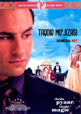 Taqdir mo'jizasi Hind kino 2008 Uzbek tilida O'zbekcha tarjima kino Full HD tas-ix skachat