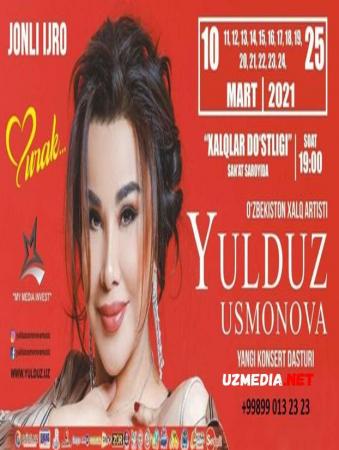 Yulduz Usmonova konsert dasturi 2021 / Юлдуз Усмонова концерти 2021 Full HD tas-ix skachat