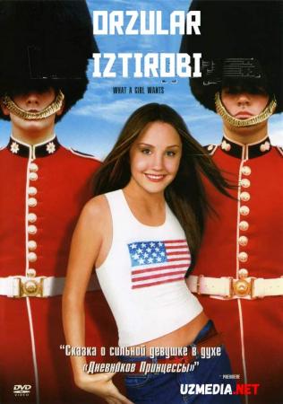 Orzular iztirobi /  Qiz nima istaydi Uzbek tilida O'zbekcha tarjima kino 2003 Full HD tas-ix skachat