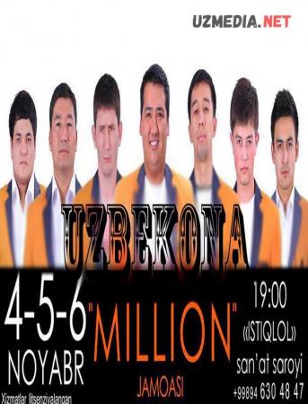 MILLION JAMOASI KONSERT DASTURI 2013 Full HD tas-ix skachat