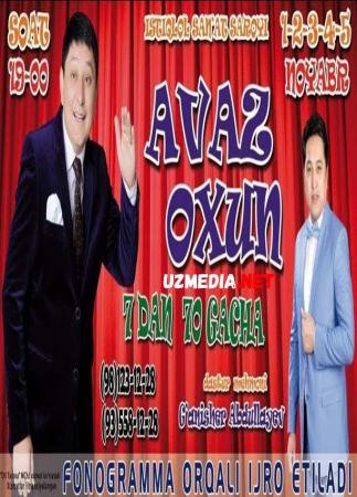 Avaz Oxun - 7-dan 70-gacha nomli konsert dasturi 2017 Full HD tas-ix skachat