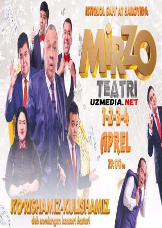 Mirzo teatri - Ko'rishamiz-kulishamiz nomli konsert dasturi 2017 Full HD tas-ix skachat