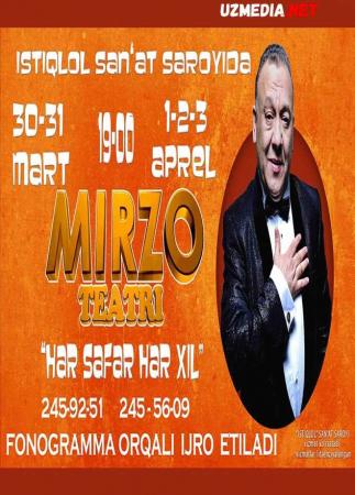 Mirzo teatri - Xar safar xar-xil nomli konsert dasturi 2016 Full HD tas-ix skachat