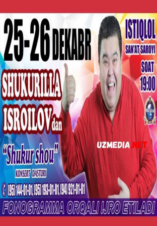 Shukurullo Isroilov (SHUKUR SHOU 2015) konsert dasturi 2015 Full HD tas-ix skachat