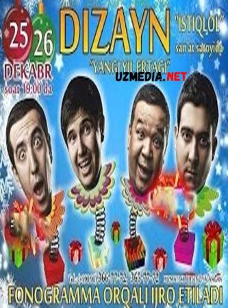 Dizayn jamoasi - Yangi yil ertagi konsert dasturi 2013 Full HD tas-ix skachat
