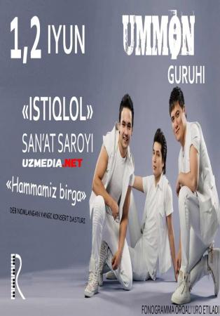 Ummon - Hammamiz birga nomli konsert dasturi 2016 Full HD tas-ix skachat