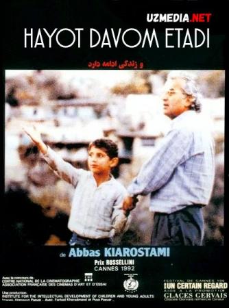 Hayot davom etadi / Xayot va boshqa hech narsa Eron filmi Uzbek tilida O'zbekcha tarjima kino 1992 HD tas-ix skachat