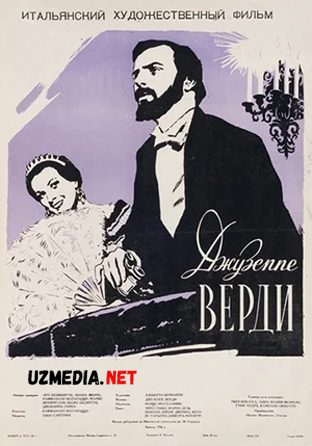 Juzeppe Verdi 1958 Biografik film Uzbek tilida O'zbekcha tarjima kino Full HD tas-ix skachat