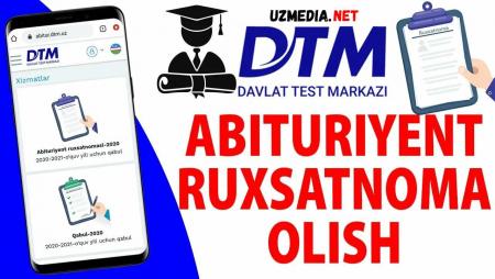 DTM Qabul 2021-2022 Mandat javoblari