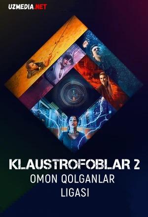 Klaustrofoblar 2: Omon qolganlar ligasi / Jumboqlar xonasi 2: Chempionlar turniri Uzbek tilida O'zbekcha tarjima kino 2021 Full HD tas-ix