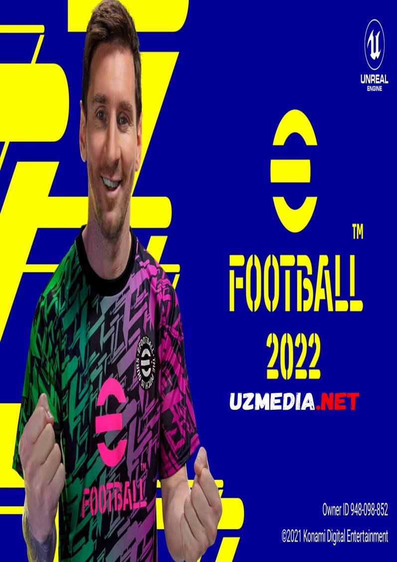 Pes eFootball 2022 Mobile Android Tas-IX skachat