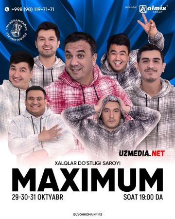 Maksimum / Maximum jamoasi konsert dasturi 2021 Full HD tas-ix skachat